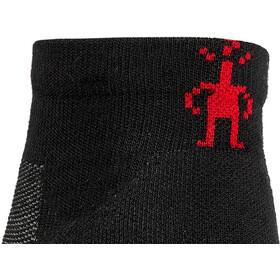 Smartwool Run Targeted Cushion Calcetines de corte bajo, gris/negro